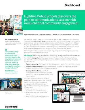 Highline Public Schools case study thumb
