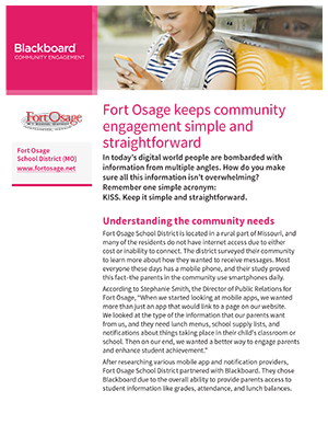 Fort Osage School District case study thumb