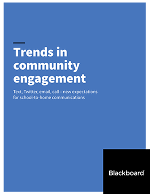Trends in community engagement report