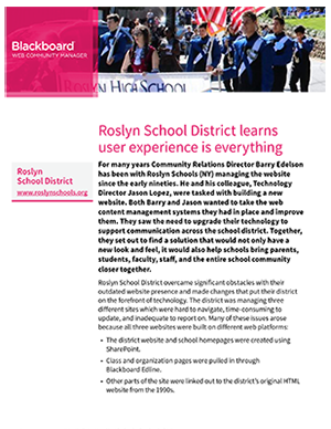 Roslyn School District case study thumb