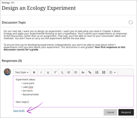Design an ecology experiment