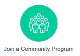 Join a community program