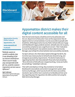 Appomattox County Public Schools Case Study thumb