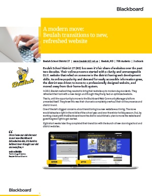 Beulah School District Case Study thumb