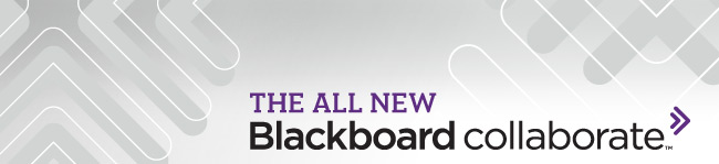 All New Blackboard Collaborate Image Header
