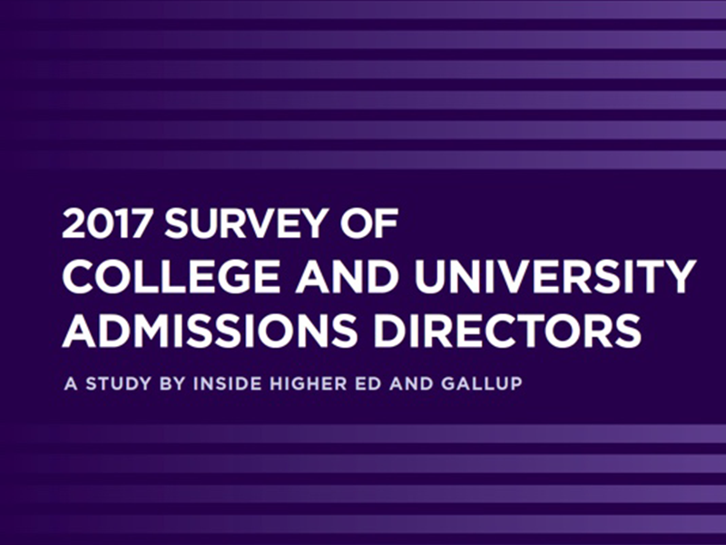 Survey of College and Admissions